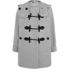 Burberry Brit Wool and cashmere-blend duffle coat