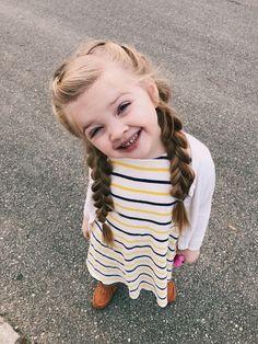 Little girl braids