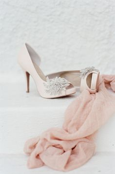 #pinkweddingshoes see the bride in this these pretty shoes photos: @tamaragruner See the bride in these shoes here and follow @DMeventsNY  https://instagram.com/dmeventsny