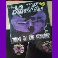 """#wutangwednesday shout out to my friend LA the Darkman. Going through my """"Wuseum"""" archives and found a sealed """"Heist of the Century"""" album and a sealed and a opened promo album. This was a double vinyl pressing from 1998 and I helped with promotions of it.  #lathedarkman #wutangfam #wutang #wuwednesday #wutangclan #wu #hiphop #wutangpromoter #hiphoppromoter #vinyl #dj  #turntablism by gthepromoter"""