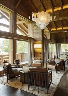 View full picture gallery of Mont D'Arbois Chalet Interior, Decor Interior Design, Alpine Style, Rustic Barn, Patio Design, Lighting Design, Interior Architecture, Gallery, House