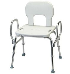 Commode Chair Portable Toilet Chair for Patient Older People Disable Person Pregnant Women Children in Household Hospital Nursing Home Kindergarten White
