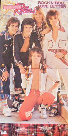 Bay City Rollers.  Had the tartan scarf, the the bedroom covered in their posters, and a booklet with ALL of the their pictures and articles.  Went to their concert and couldn't go to school next day as was 'emotionally exhausted!'