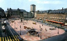 STRASBOURG place Kleber 1960 1970