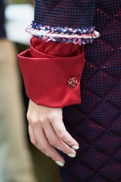 Chanel Fall 2015 Couture #details