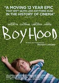 Boyhood is a 2014 American indie film written and directed by Richard Linklater starring Ethan Hawke, Patricia Arquette, Ellar Coltrane, and Lorelei Linklater. Patricia Arquette, Hd Movies, Movies To Watch, Movies Online, Boyhood Movie, Bon Film, I Love Cinema, Best Movie Posters, Cinema Posters