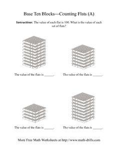 math worksheet : 1000 images about math base 10 blocks on pinterest  base ten  : Division With Base Ten Blocks Worksheets