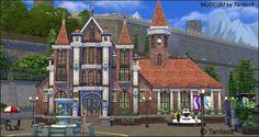 Tanitas Sims: Museum - no CC • Sims 4 Downloads