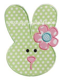 Bunny 6 Applique Design