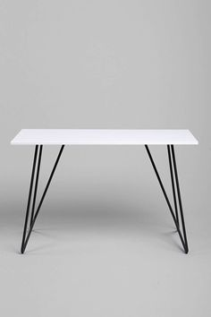 Metal Tubing Desk - Urban Outfitters