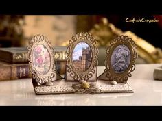 Downton Abbey : Papercrafting Collection - YouTube A Moment In Time, Easel Cards, Crafters Companion, All Craft, Downton Abbey, Blank Cards, Product Launch, Paper Crafts, Stamp