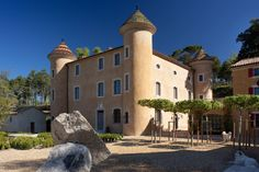 Somewhere I would like to live: Château in Provence / Pierre Yovanovitch Pierre Yovanovitch, Places Ive Been, Mansions, Live, House Styles, Inspiration, Design, Home Decor, Houses