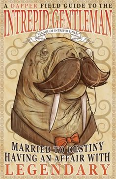 no explanation necessary--walrus print