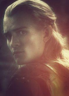 Legolas - when Frodo was looking into Lady Galadriel's mirror :)