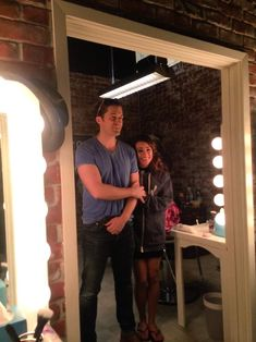 Lea Michele & Matthew Morrison on Glee Set Matthew Morrison, Rachel Berry, Lea Michele, Glee Season 6, Finn Glee, Glee Club, Brenda Song, Naya Rivera, Uk Photos