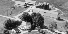 An aerial view of Watchtower Farms 50 years ago Watchtower Farms—Five Decades of Harvest Work