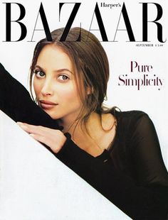 Bazaar September 1993 - Christy Turlington