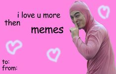 Bad Valentines Cards, Valentines Day Memes, Reaction Pictures, Funny Pictures, Madly In Love, My Love, Love My Best Friend, Cute Love Memes, Pick Up Lines