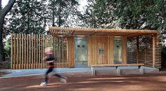 Public Toilets in the Tête d'Or Park,© Franck Fleury