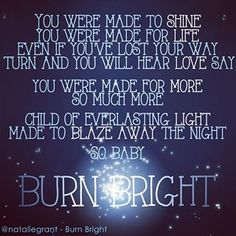 Natalie Grant - Burn Bright