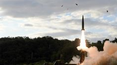 cool North Korea launches missile, South Korea fires reponse
