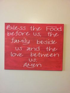 Sign made for dining room?