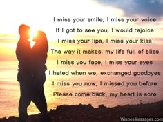 I Miss You Poems for Girlfriend: Missing You Poems for Her Miss My Ex, I Miss Your Voice, L Miss You, Miss Your Face, Missing You Poems, Love Poem For Her, Love Poems, Love And Trust Quotes, Missing You Quotes For Him