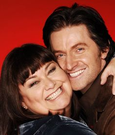 Dawn French and Richard Armitage, The Vicar of Dibley (One of my favorite shows EVER!)