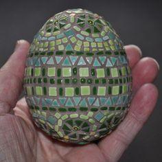 Tiny Tile Mosaic Egg Project