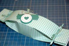 Kanllbonbon-Verpackung selbstgemacht (Quardat von 20x20cm)