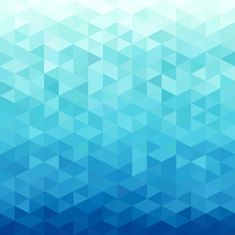 Abstract water backgorund Vinyl Wall Mural - Geometry