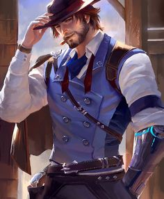 A collection of tattoos and fan art inspired by McCree from the game Overwatch. Overwatch Tattoo, Overwatch Hanzo, Overwatch Drawings, Overwatch Comic, Overwatch Memes, Overwatch Fan Art, Hot Anime Boy, Anime Guys, Overwatch Wallpapers