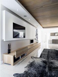 einrichtungsideen wohnzimmer badezimmer tv wohnwand fernseher innenausstattung wohnraum haus bauen