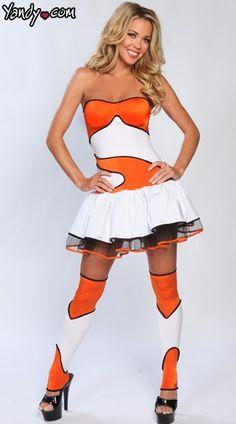 Finding Clownfish Costume