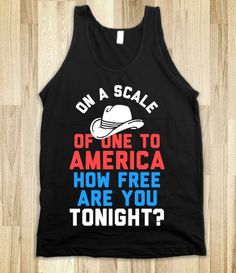 On a Scale of One To America … (Dark Tank)