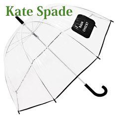 ケイトスペード Kate Spade 傘 レディース 雨傘 アンブレラ 長傘 GIFTS UMBRELLA ビニール傘 クリア 135247-922