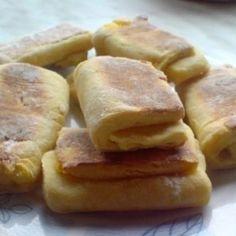 Krumplis pogácsa Katharosz konyhájából | Nosalty Apple Pie, Sausage, French Toast, Meat, Breakfast, Food, Morning Coffee, Sausages, Essen