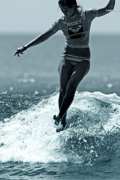 Kassia Meador surfing. Your Body is a Wonderland http://www.pinterest.com/wineinajug/your-body-is-a-wonderland/