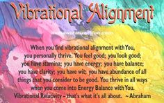 Vibrational Alignment.