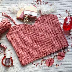 Crochet Crop Top, Crochet Blouse, Crochet Tops, Crochet Summer Tops, Crochet Magazine, Crochet Instructions, Cute Crop Tops, Basic Tops, Top Pattern