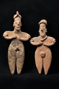 A friend brought some of these figures back from her travels....I love them! COLIMA COUPLE – MEXICO (300-100 BC)