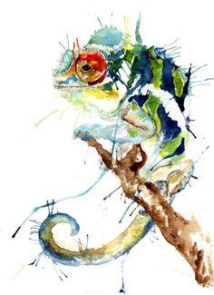 """""""My Chameleon"""" by Meg Ashford"""