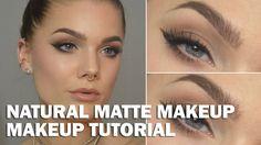 Natural Matte Makeup - Linda Hallberg Makeup Tutorials