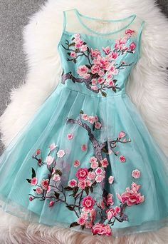 Simple Lace Up Embroidery Short A-line Tulle Homecoming Dresses,Fashion Dresses,Cute Dresses on Luulla Pretty Dresses, Beautiful Dresses, Flower Dresses, Gorgeous Dress, Lace Dress, Dress Up, Skater Dress, Dress Shoes, Mint Dress