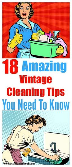 VINTAGE CLEANING TIPS THAT ACTUALLY WORK