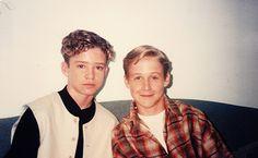 Justin Timberlake & Ryan Gosling - 1994 Justin Ryan, Ryan Thomas, Amanda Seyfried, Logan Lerman, Justin Timberlake, Dita Von Teese, Hey Girl, Pretty People, Beautiful People