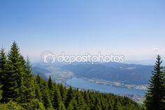 #View To #Lake #Ossiach From #Gerlitzen @depositphotos #depositphotos #@carinzia #ktr15 #nature #landscape #carinthia #austria #summer #season #spring #outdoor #hiking #holidays #vacation #travel #leisure #sightseeing #stock #photo #portfolio #download #hires #royaltyfree