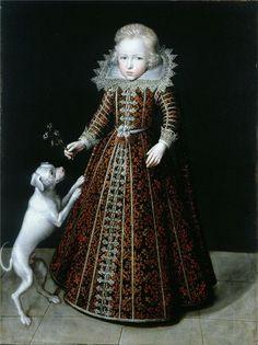 """Ulrik, Prince of Denmark, Son of Christian IV"", ca. 1615, by Jacob van Dort (Dutch, 17th C.)"