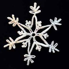 Crochet Snowflake #15