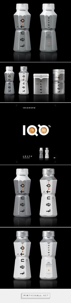 Lento RTD ‪Coffee‬ ‪‎packaging‬ designed to look like a percolator. Design‬ by Mousegraphics.